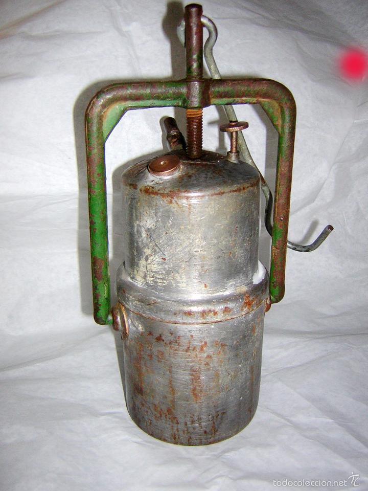 Candil de mina o carburo antiguo comprar utensilios del for Utensilios del hogar