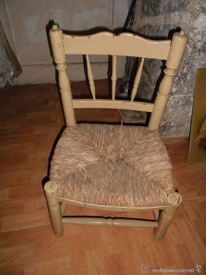 Mueble antiguo antigua silla peque a sobre 100 comprar - Mueble entrada casa ...