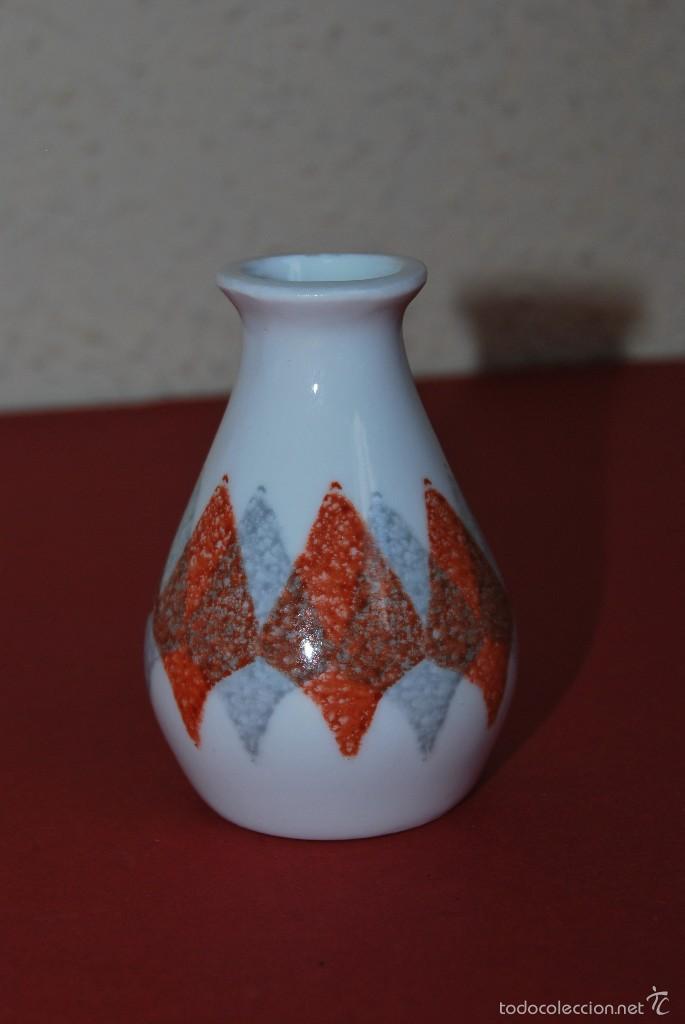 JARRÓN MINIATURA DE CASTRO - SARGADELOS - CERÁMICA - PORCELANA (Antigüedades - Porcelanas y Cerámicas - Sargadelos)