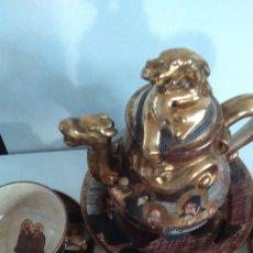 Antigüedades: JUEGO DE TÉ JAPONES ESTILO SATSUMA. Lote 58010927