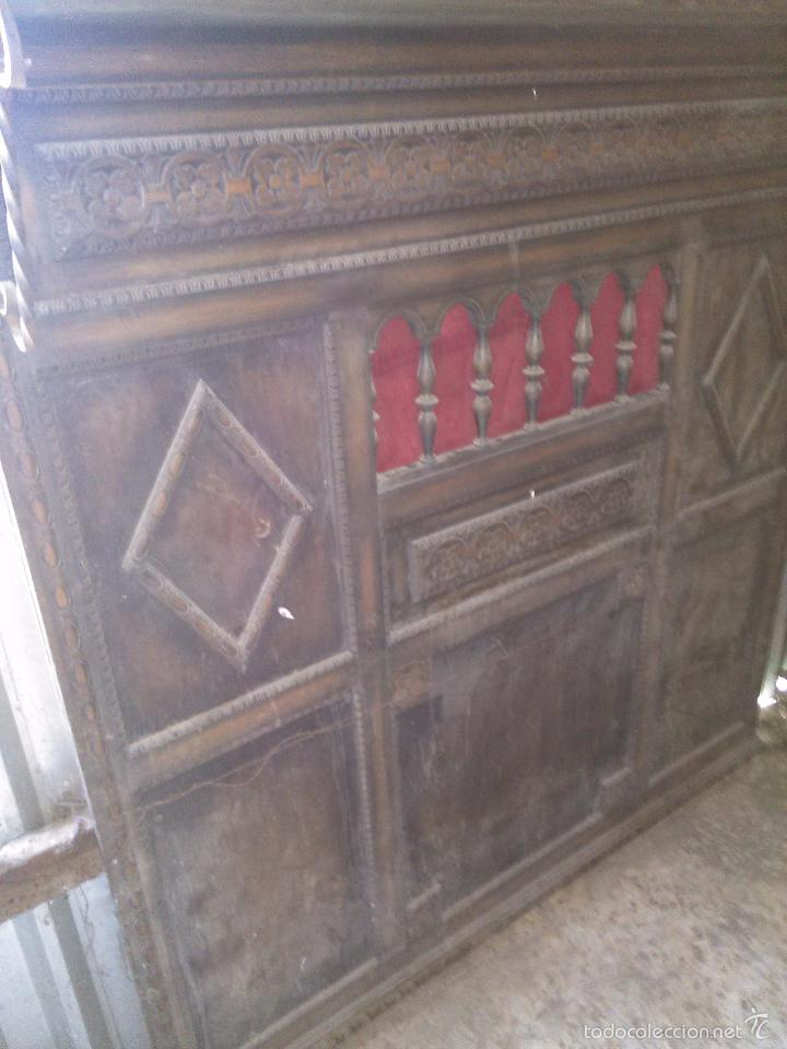 mueble recibidor paraguero sombrerero para restaurar antigedades muebles antiguos auxiliares antiguos