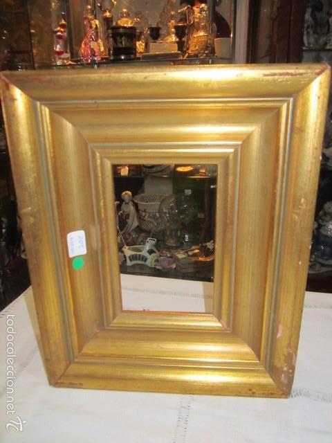 antiguo marco de madera dorada. exterior: 22 x - Comprar Marcos ...