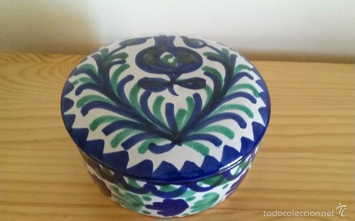BOTE FAJALAUZA CERÁMICA (Antigüedades - Porcelanas y Cerámicas - Fajalauza)