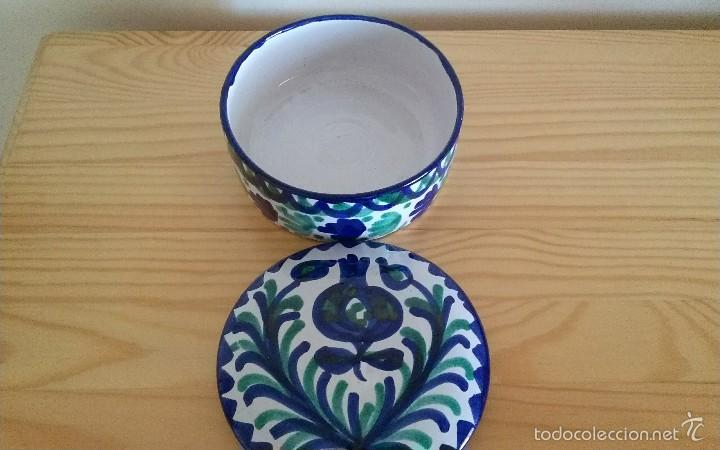 Antigüedades: Bote Fajalauza cerámica - Foto 2 - 58075414