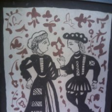 Antigüedades: ~~~~ AZULEJO SOCARRAT ENMARCADO FIRMADO M. PAYA, MANISES - VALENCIA. Lote 58075774