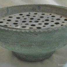 Recipiente caldero cazo de barro con rejilla comprar botijos jarras nforas y otras - Rejillas de barro ...