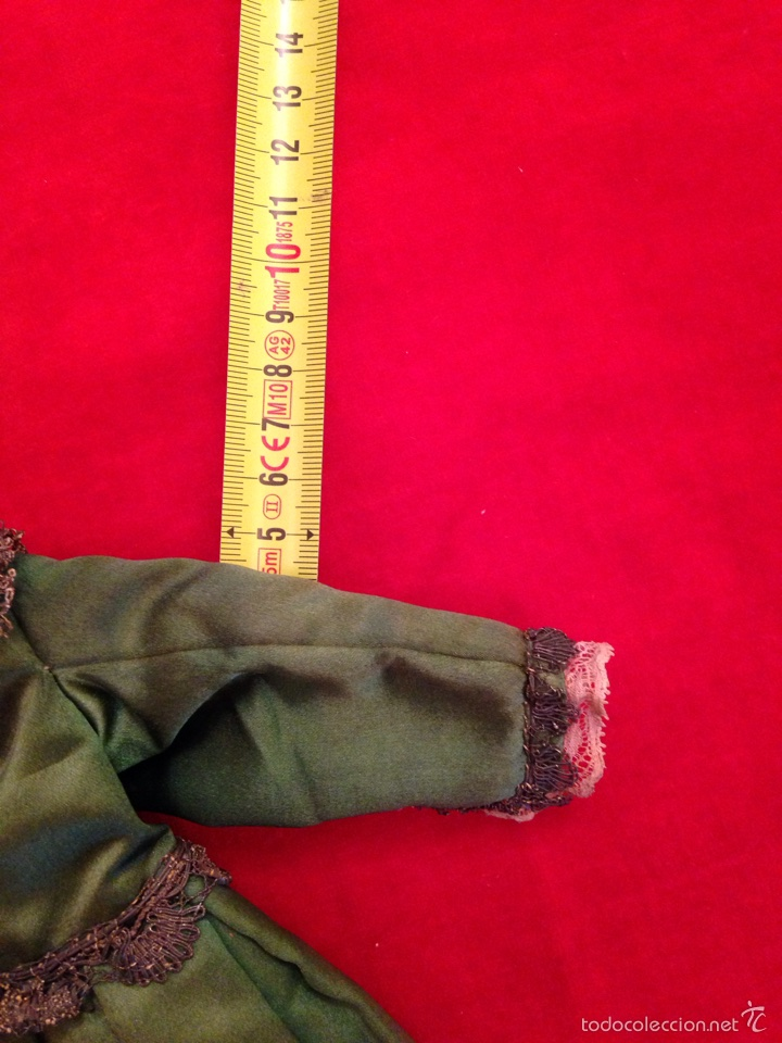 Antigüedades: Traje de niño Jesús del siglo XIX - Foto 13 - 57238634
