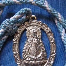 Antigüedades: MEDALLA CON CORDON DE LA HERMANDAD DE NTRA SRA DE BELEN - PALMA DEL RIO - CORDOBA. Lote 58117953