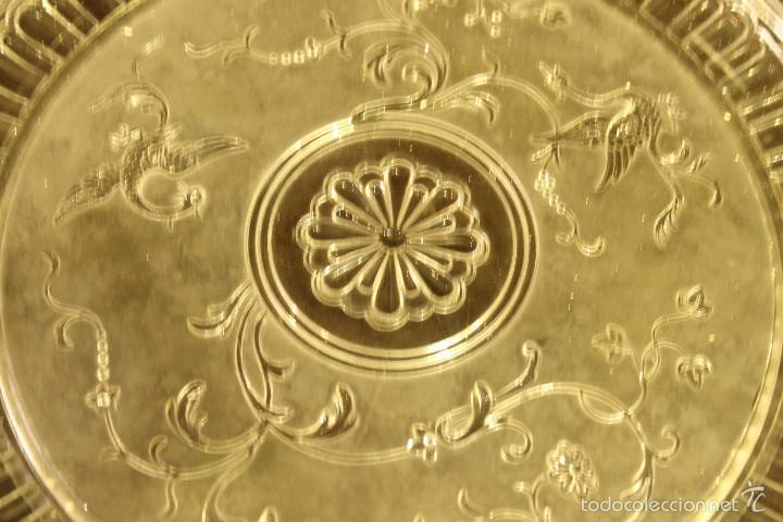 Antigüedades: PLATO CRISTAL BACCARAT 28 cms de diametro - Foto 4 - 58135572