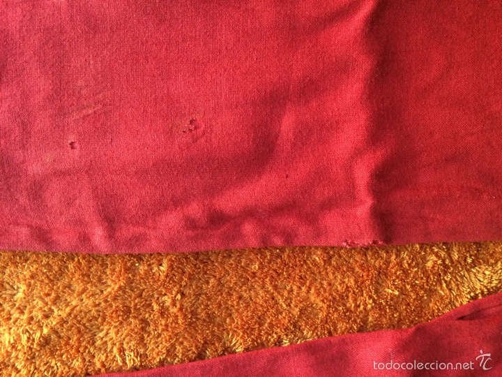 Antigüedades: Fajín de tela de algodón con flecos - Foto 2 - 58138124