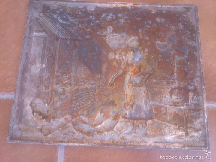 Antigüedades: PLACA EN ALTO RELIEVE MODELO REGISTRADO - Foto 6 - 58159889