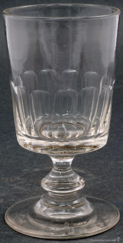 Antigüedades: Copa cristal La Granja PP XX - Foto 2 - 58182034