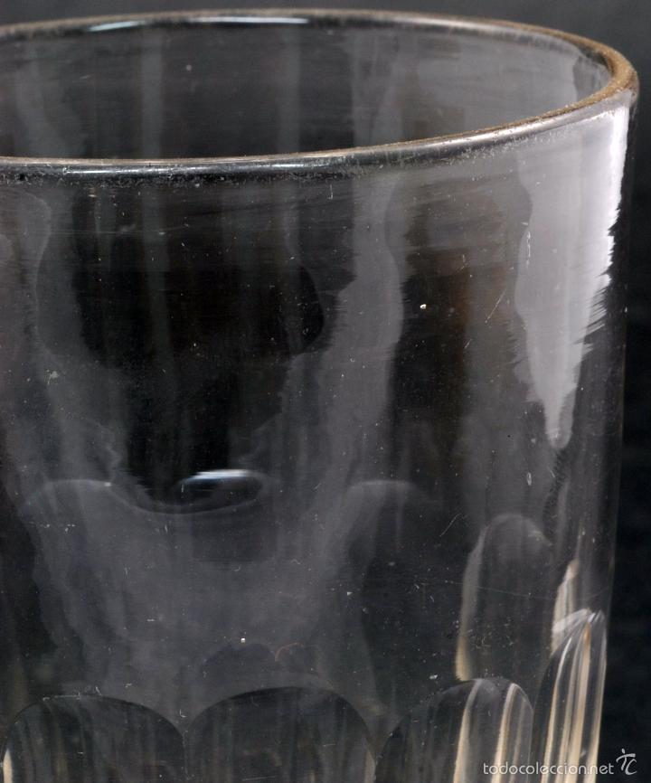 Antigüedades: Copa cristal La Granja PP XX - Foto 5 - 58182034