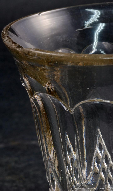Antigüedades: Copa cristal La Granja PP XX - Foto 5 - 58182056