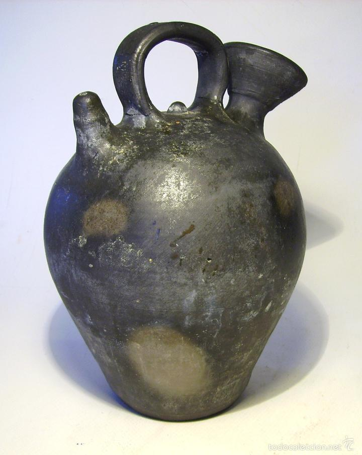 Antigüedades: BOTIJO DE TERRISSA CATALANA ( VERDÚ ) - Foto 8 - 58190938