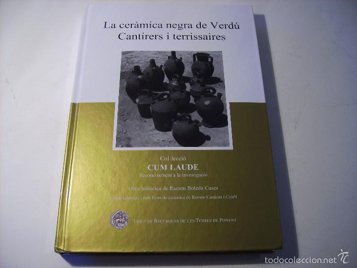 Antigüedades: BOTIJO DE TERRISSA CATALANA ( VERDÚ ) - Foto 17 - 58190938