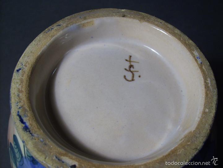 Antigüedades: JARRA CERÁMICA DE FAITANAR XIX - Foto 13 - 58190843