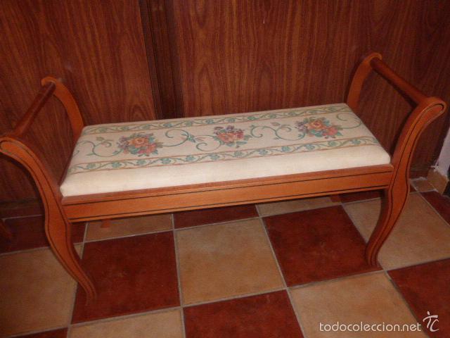 sillon, banco o diván de dos plazas de madera c - Comprar Sillones ...