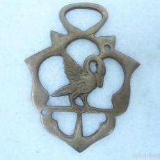 Antigüedades: PIEZA DE BRONCE Ó LATÓN. Lote 58204472