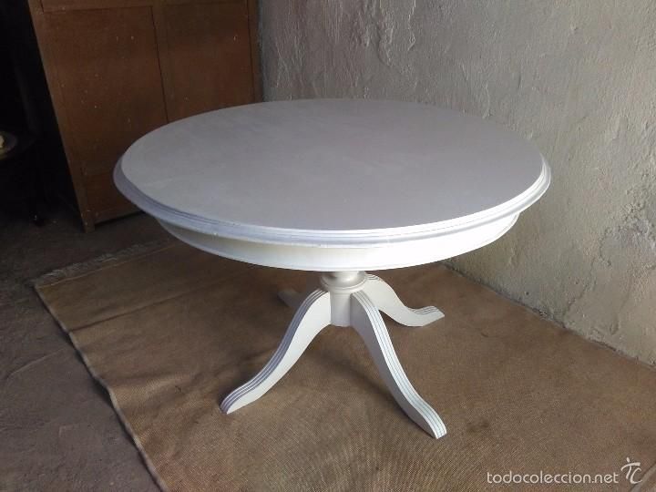Mesa grande antigua retro vintage mesa de salón - Sold through ...