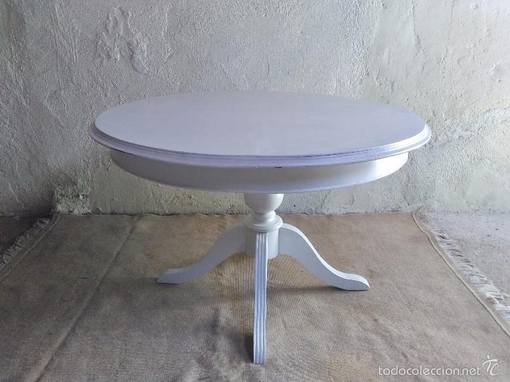 Mesa grande antigua retro vintage mesa de salón - Vendido en Venta ...