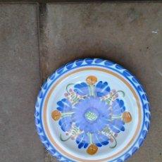 Antigüedades: GRUPO DE 5 PLATOS DE CERAMICA. Lote 58211975