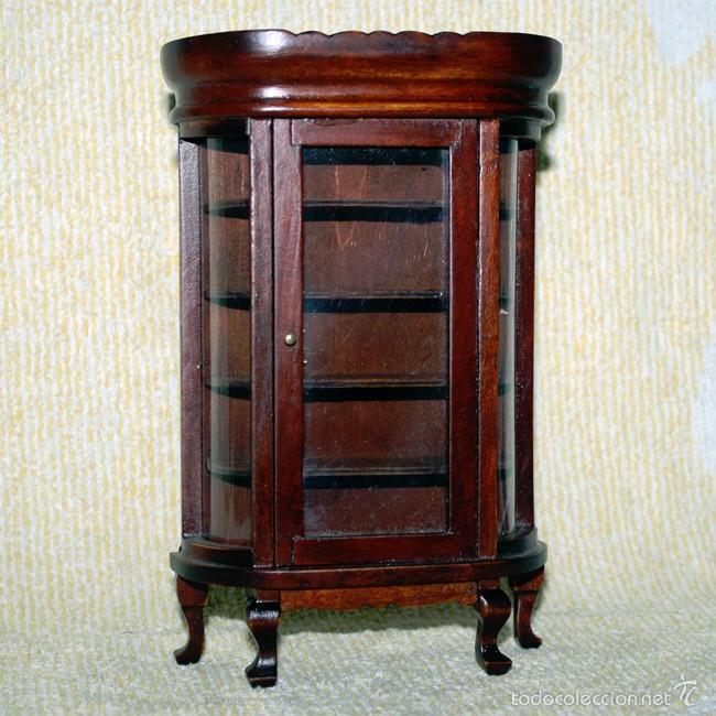 armario vitrina comedor de madera - 16 x 10 x 3 - Comprar Casas de ...
