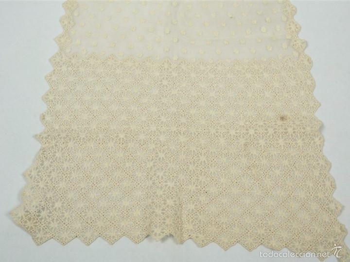 Antigüedades: Antigua mantilla de toalla - Foto 3 - 58215522