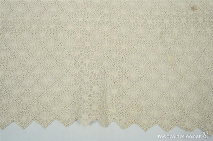 Antigüedades: Antigua mantilla de toalla - Foto 4 - 58215522