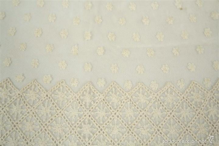 Antigüedades: Antigua mantilla de toalla - Foto 5 - 58215522