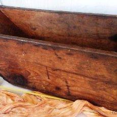 Antigüedades: FANEGA ANTIGUA. MEDIDA PARA EL GRANO. MEDIA-FANEGA.. Lote 135129313