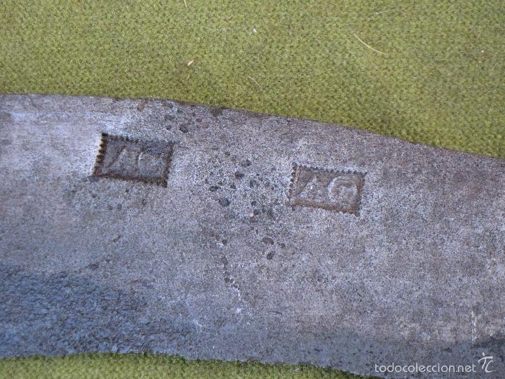 Antigüedades: PODON O CALABOZO ANTIGUO EN HIERRO FORJADO. - Foto 2 - 58219320