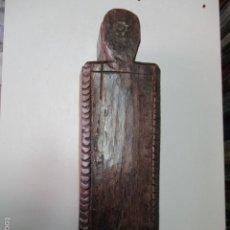 Antigüedades: MUY ANTIGUA CAJA DE MADERA. (VER FOTOS). Lote 64226171