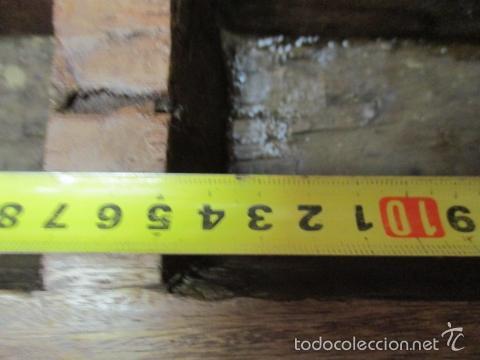 Antigüedades: Muy antigua caja SALERO de madera. (ver fotos) - Foto 19 - 64226171