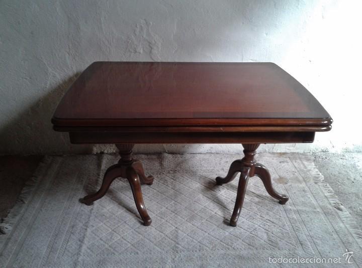 elegante mesa de salón. mesa inglesa, mesa anti - Comprar Mesas ...