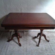Antiquitäten - elegante mesa de salón. Mesa inglesa, mesa antigua, mesa auxiliar, mesa salón comedor - 58230397
