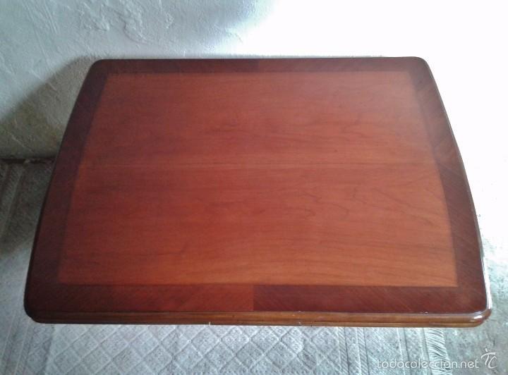 Antigüedades: elegante mesa de salón. Mesa inglesa, mesa antigua, mesa auxiliar, mesa salón comedor - Foto 4 - 58230397