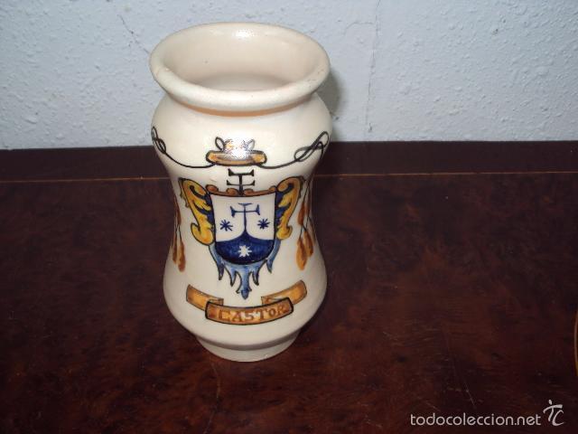 ALBARERO PRINCIPIOS SIGLO XX (Antigüedades - Porcelanas y Cerámicas - Talavera)