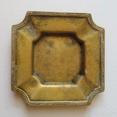 Antigüedades: CENICERO ANTIGUO DE BRONCE. Lote 222368883