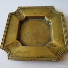 Antigüedades: CENICERO ANTIGUO DE BRONCE. Lote 222368930