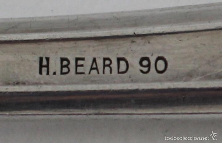 Antigüedades: tenedor con plata de ley punzonada - Foto 7 - 58252469
