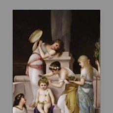 Antigüedades: REPRODUCIÓN EN AZULEJO 20X30 CON MOTIVOS VINTAGE. Lote 58255765