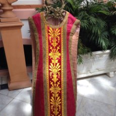Antigüedades: CASULLA DEL SIGLO XIX. Lote 232297830