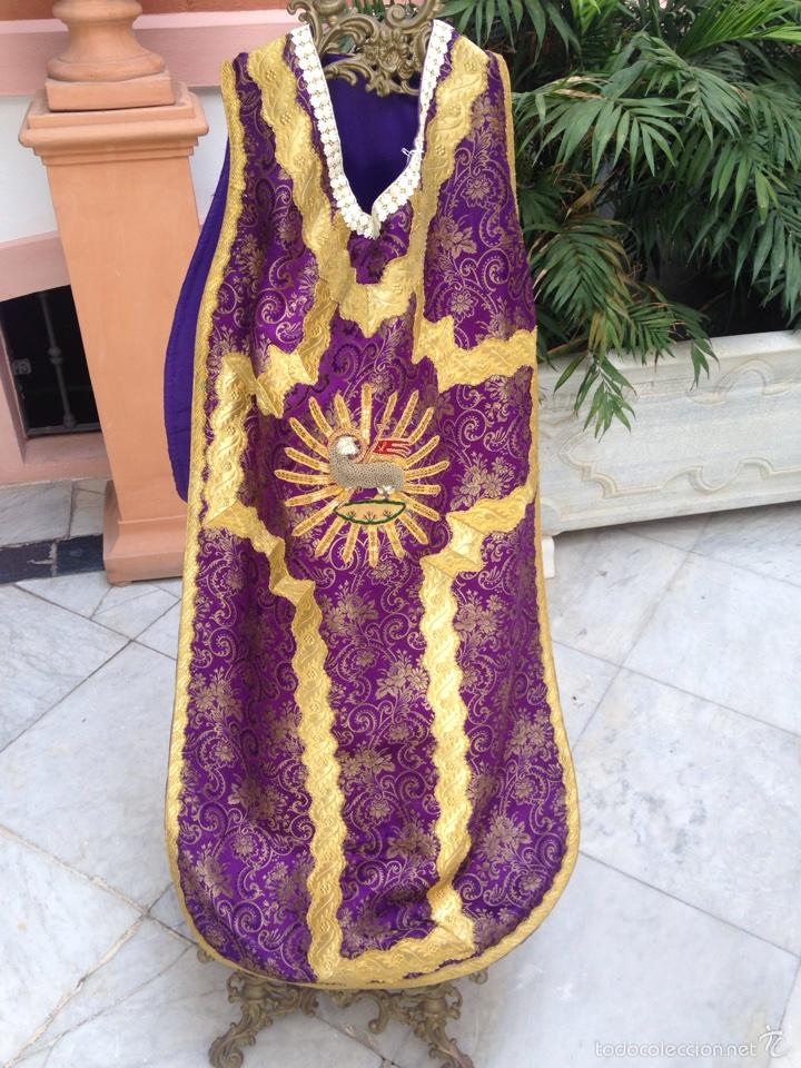 CASULLA DEL SIGLO XIX (Antigüedades - Religiosas - Casullas Antiguas)