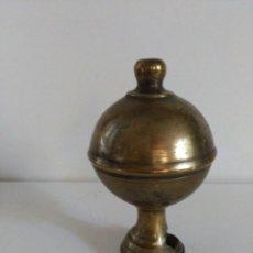 Antigüedades: REMATE DE ESCALERA EN BRONCE. Lote 58261914