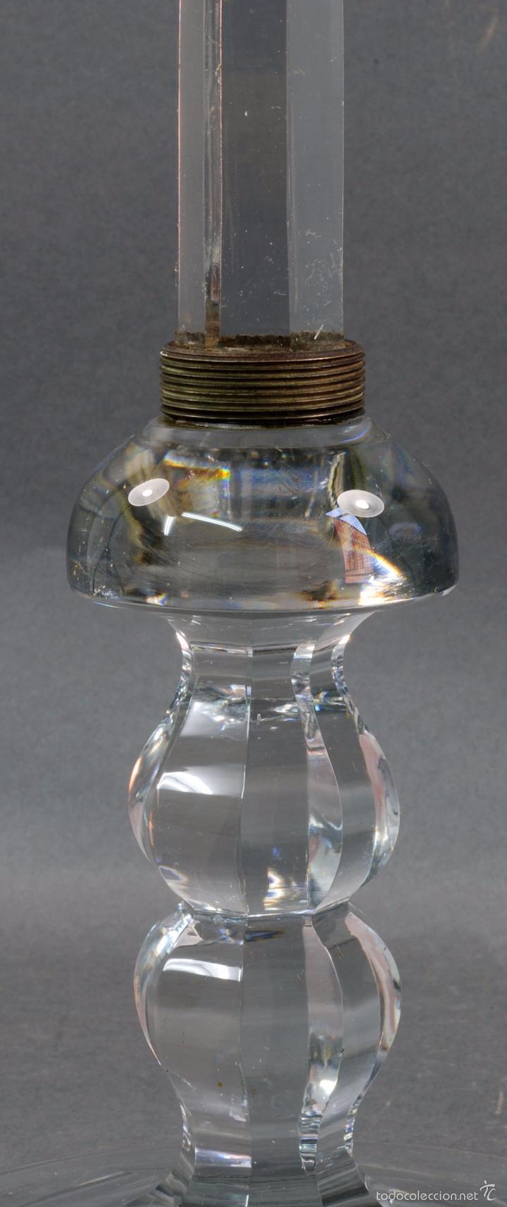 Antigüedades: Frutero dulcera cristal Baccarat PP S XX - Foto 4 - 58262291
