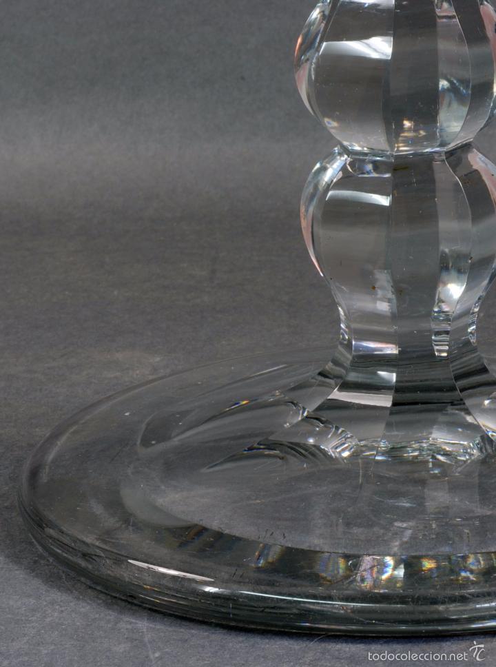 Antigüedades: Frutero dulcera cristal Baccarat PP S XX - Foto 5 - 58262291