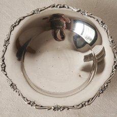 Antigüedades: SALVILLA CENTRO DE PLATA DE LEY 800. 218 GRS. 22 CM DIAMETRO X 6 CM ALTO. VER FOTOS Y DESCRIPCION. Lote 58262880