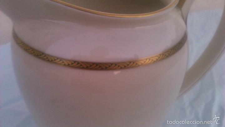 Antigüedades: Preciosa jarra de porcelana de la prestigiosa marca rosenthal. selb-germany.winifred.con oro 18 k - Foto 3 - 58266520