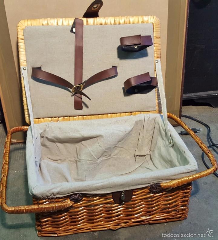Antigüedades: cesta de merienda - Foto 2 - 58268879